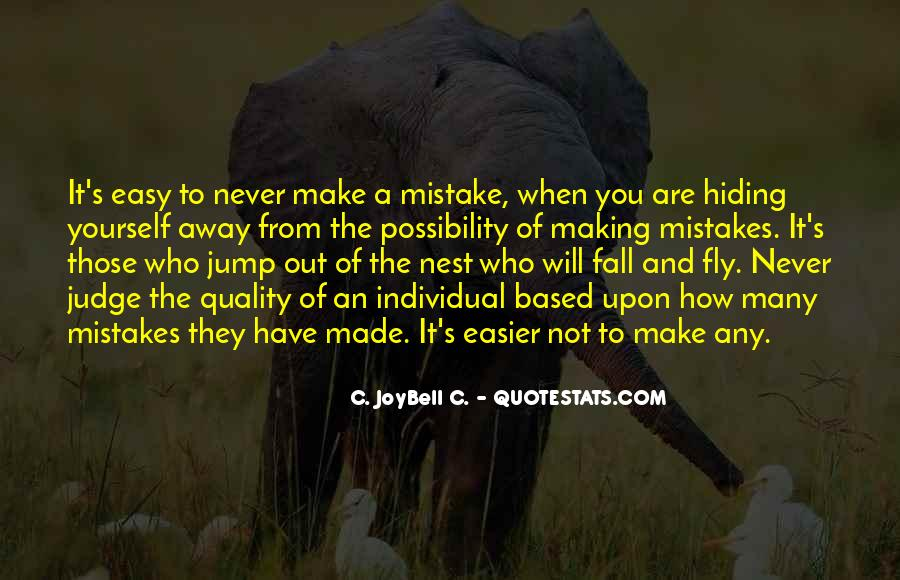 Quotes About Mistakes Of Others #869050