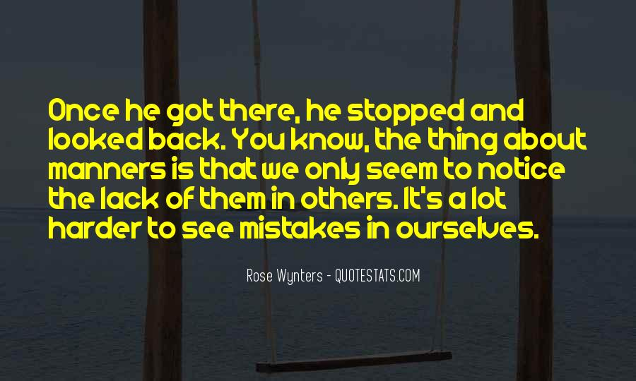 Quotes About Mistakes Of Others #876884