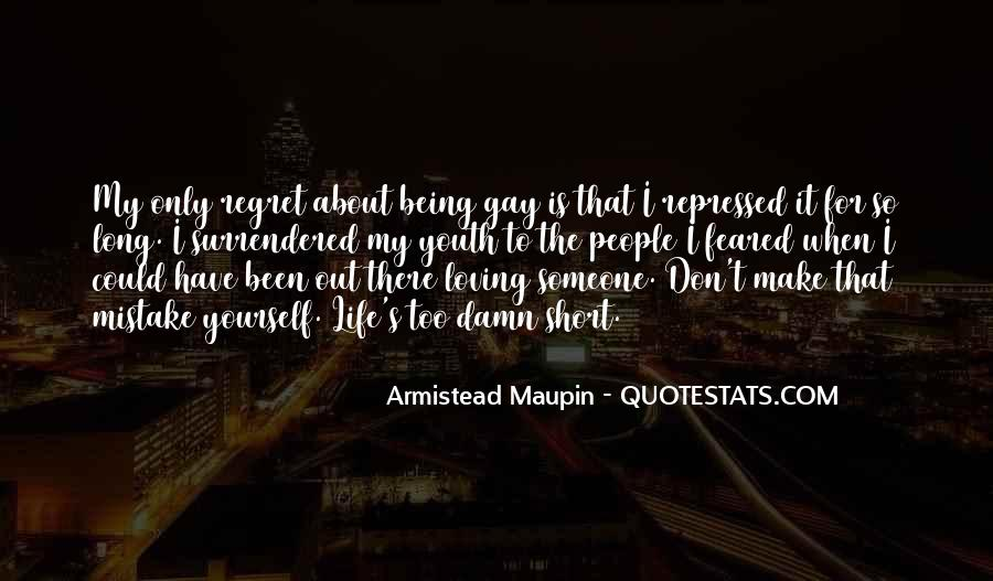 Quotes About Mistake And Regret #1347410