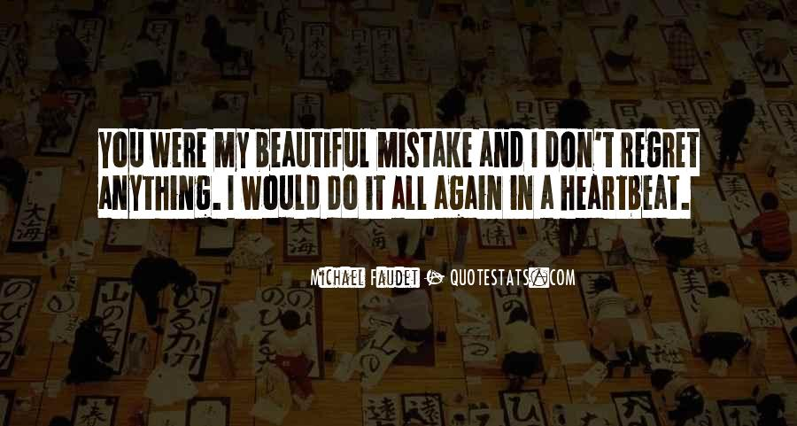 Quotes About Mistake And Regret #1496064