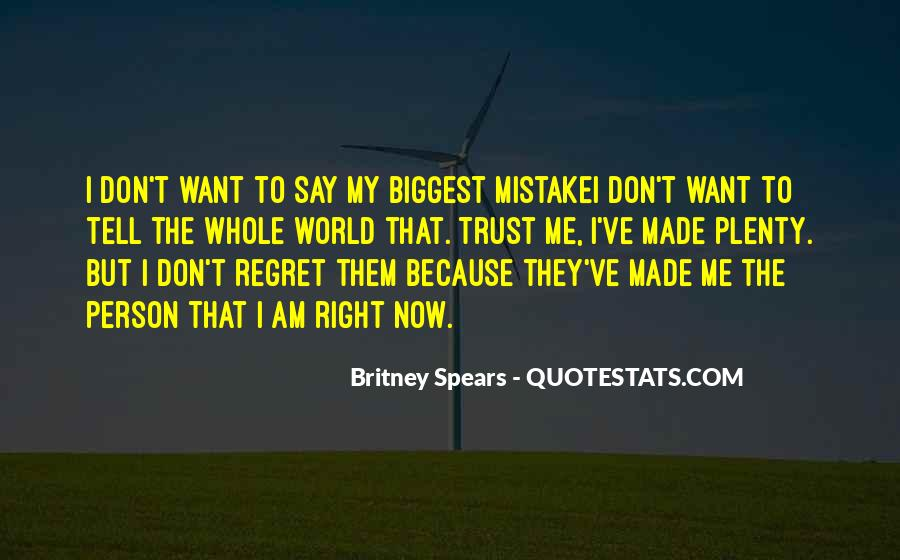 Quotes About Mistake And Regret #1562755