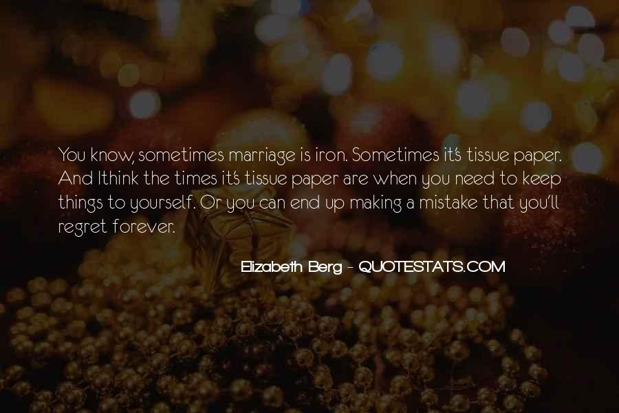 Quotes About Mistake And Regret #1621946