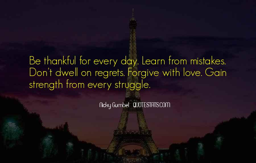 Quotes About Mistake And Regret #1864719
