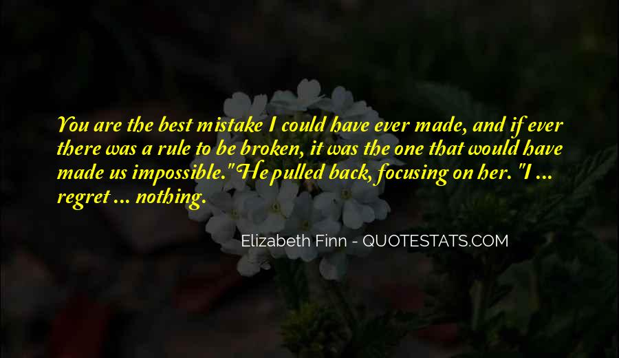 Quotes About Mistake And Regret #648769
