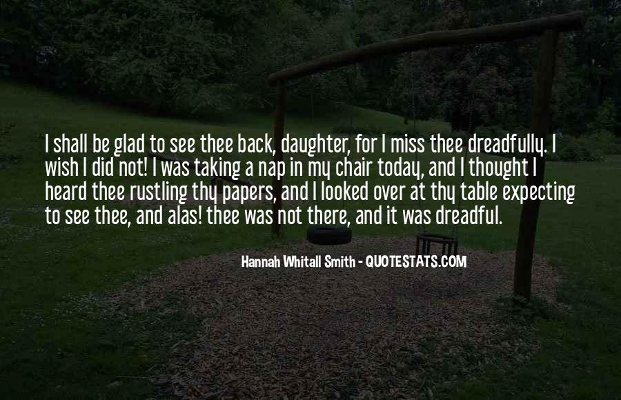 Quotes About Missing Your Daughter #1010770