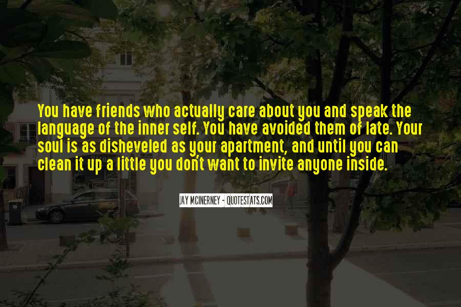 Avoided By Friends Quotes #1465027