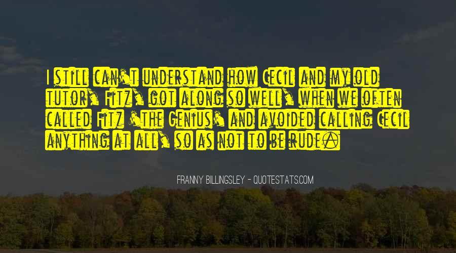 Avuncular Quotes #1590522