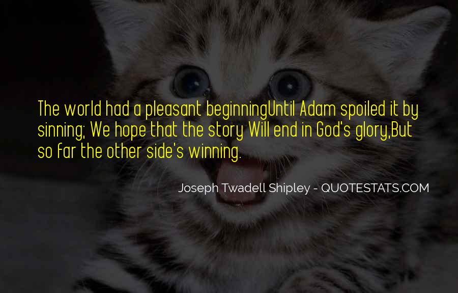 Quotes About The Winning Side #1049343