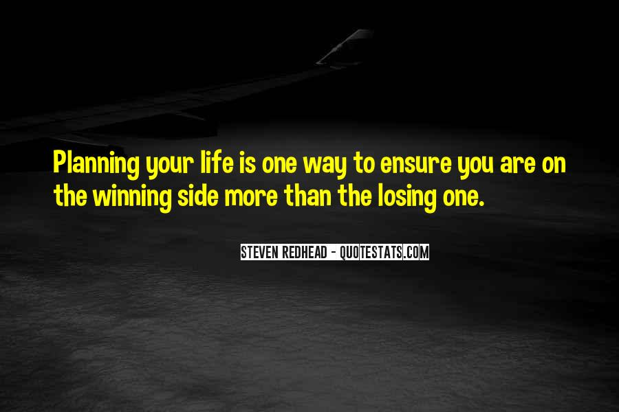 Quotes About The Winning Side #1268557