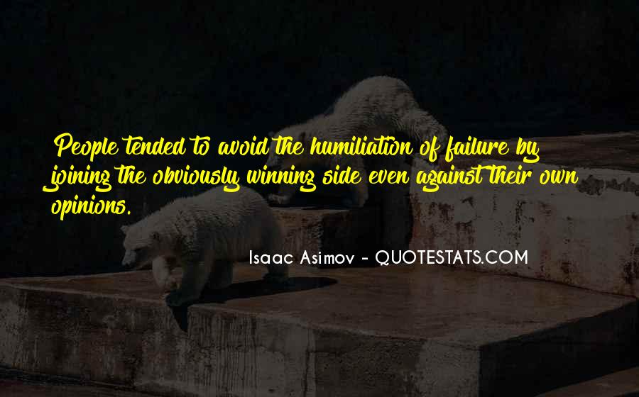 Quotes About The Winning Side #1524997