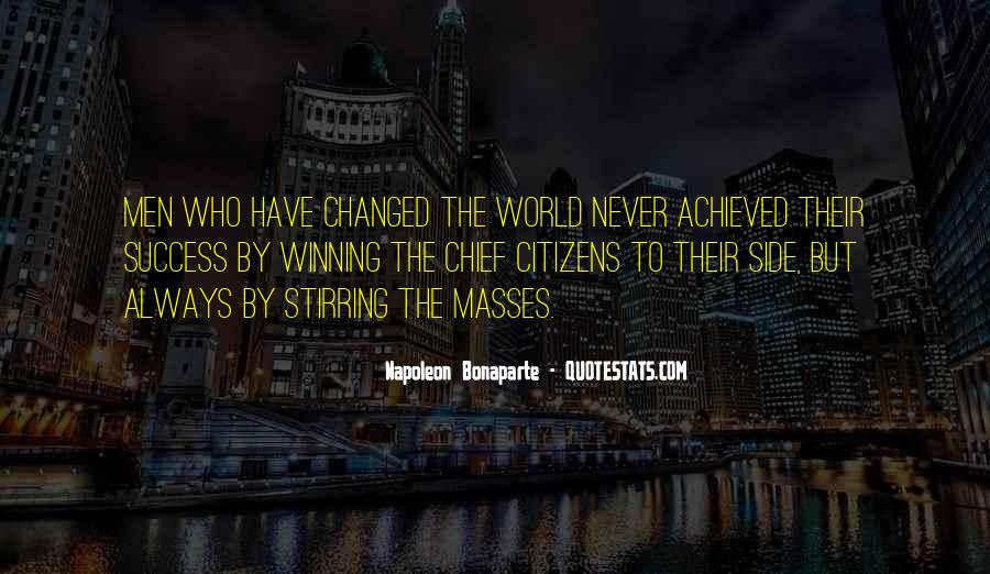 Quotes About The Winning Side #74007