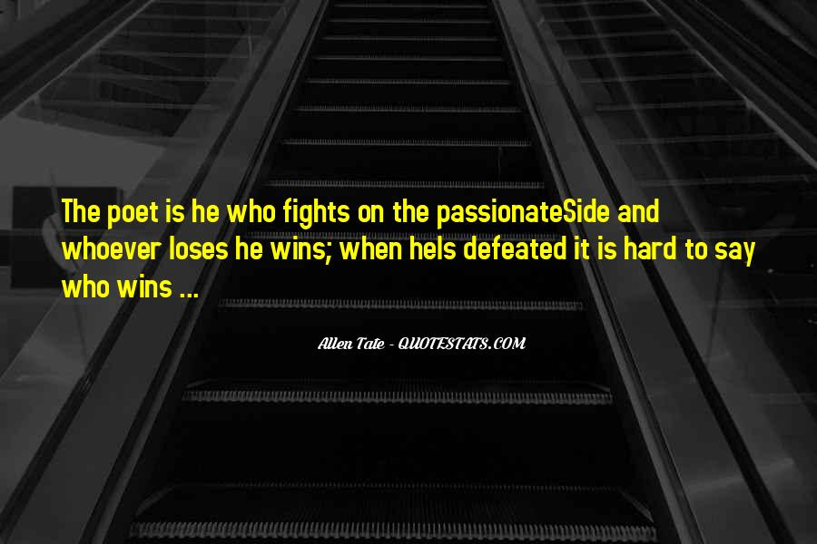 Quotes About The Winning Side #86513