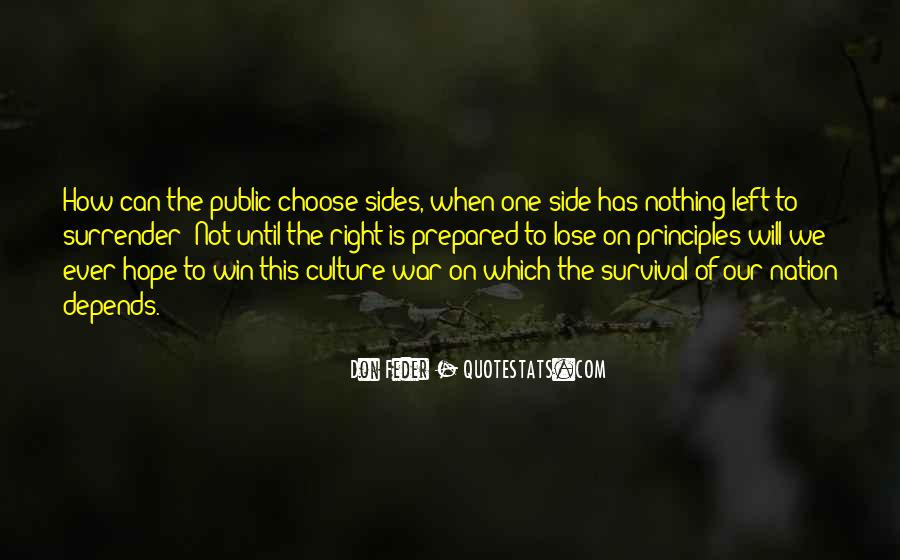 Quotes About The Winning Side #988097