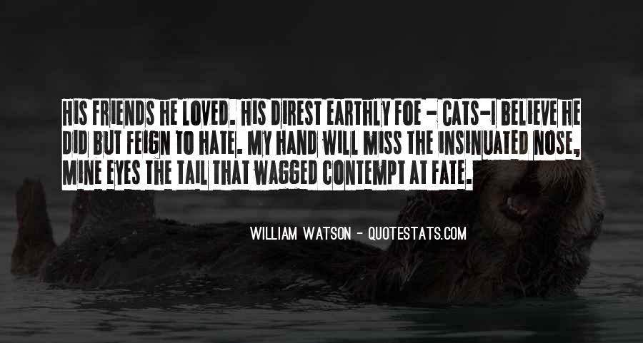 Quotes About Miss Watson #52169