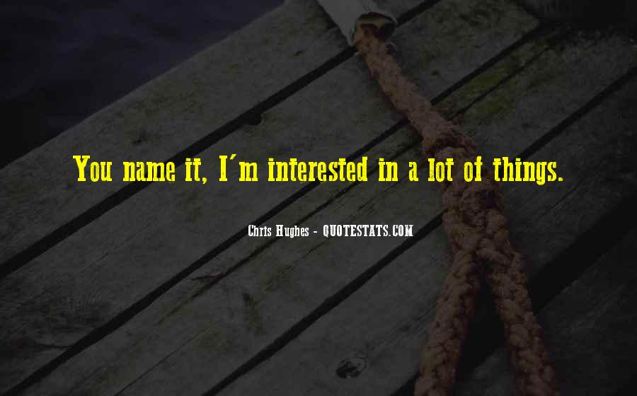 Quotes About Misinterrupation #1389284