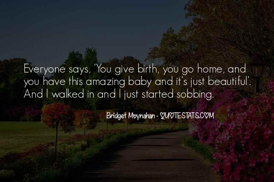 Baby Birth Quotes #871330