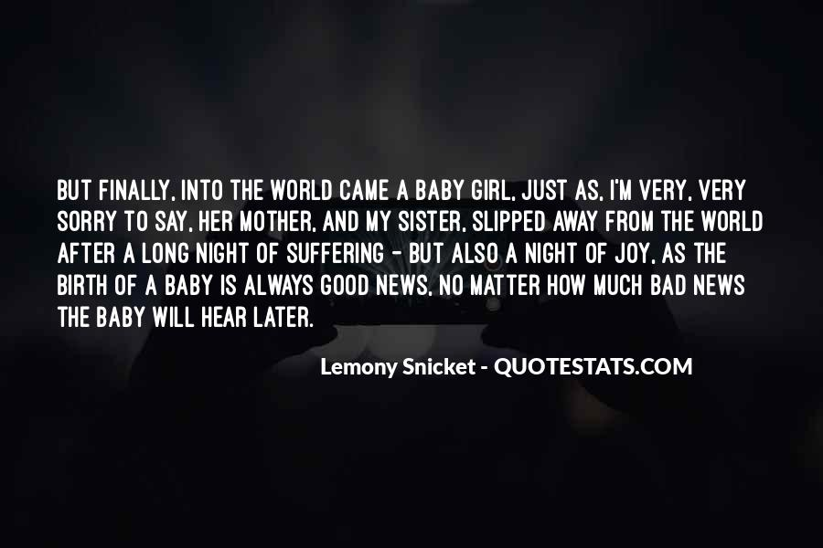 Baby Birth Quotes #929394
