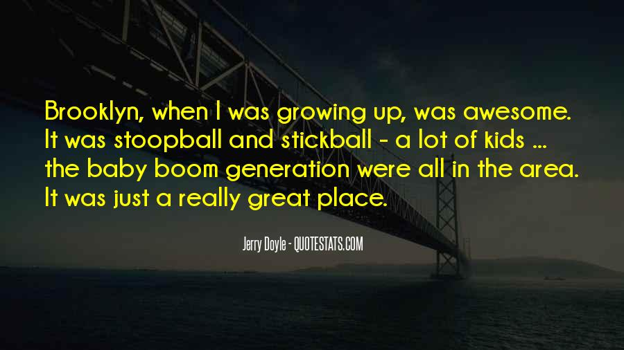 Baby Boom Generation Quotes #545442