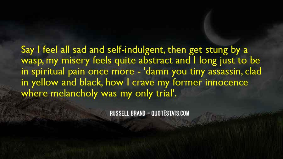 Quotes About Misery And Pain #1060165