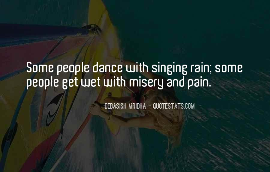 Quotes About Misery And Pain #1542696