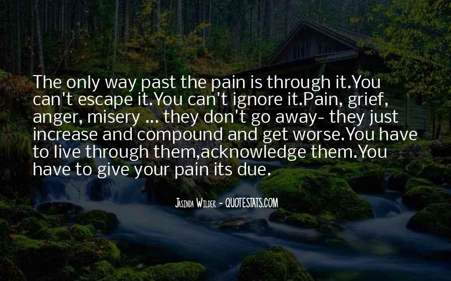 Quotes About Misery And Pain #1566750