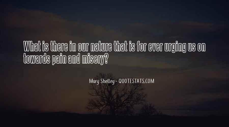 Quotes About Misery And Pain #1680362