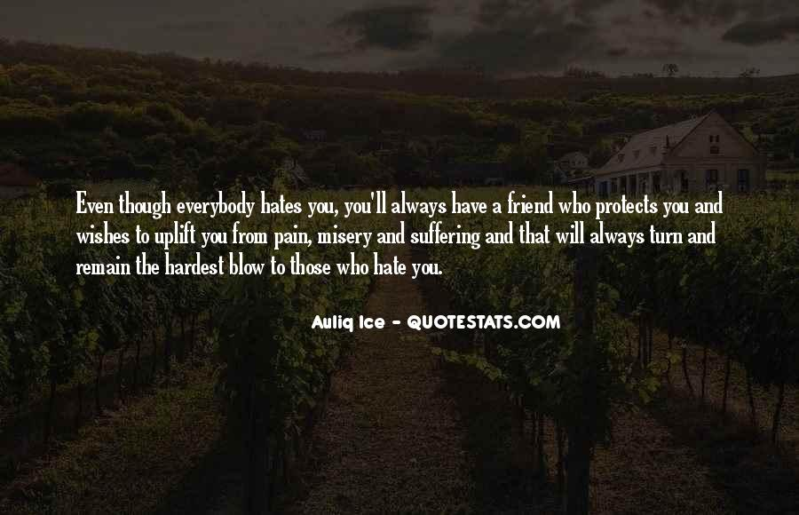 Quotes About Misery And Pain #1842076
