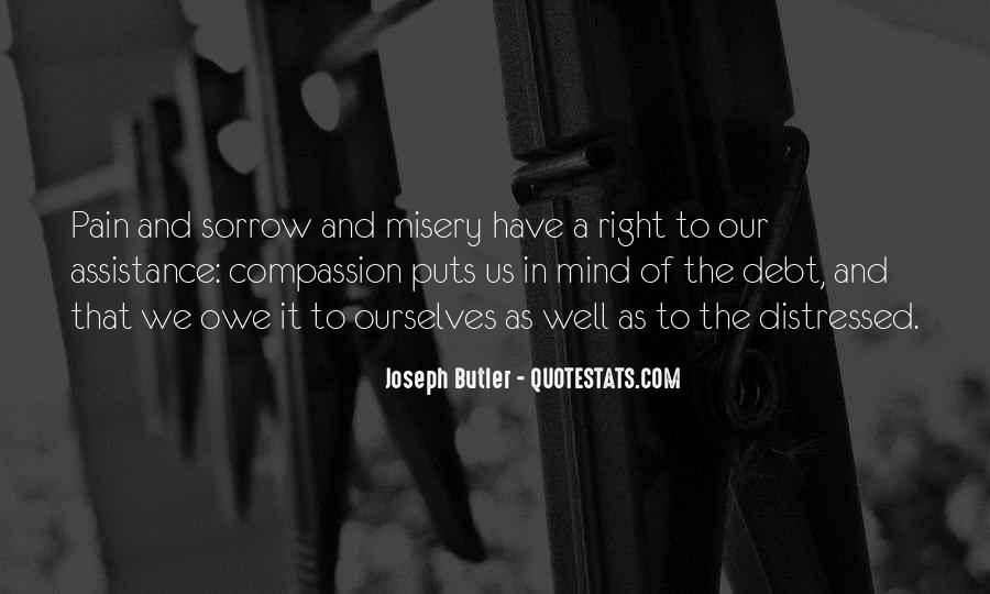 Quotes About Misery And Pain #201968