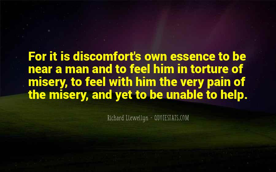 Quotes About Misery And Pain #30603