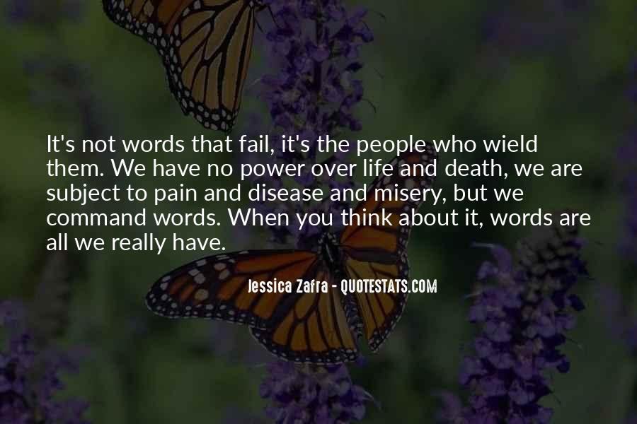 Quotes About Misery And Pain #365702