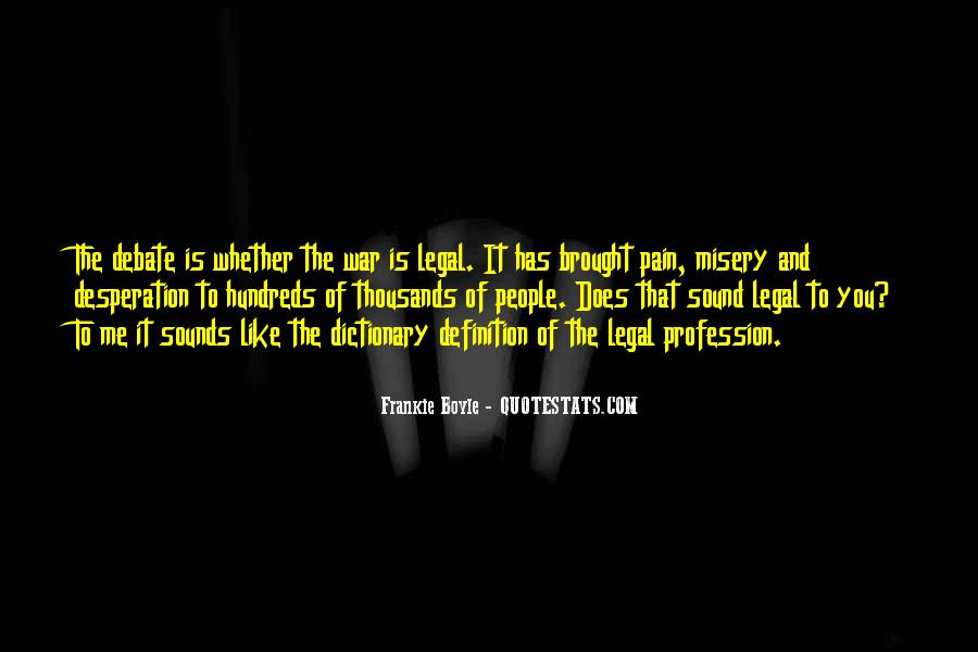 Quotes About Misery And Pain #661111