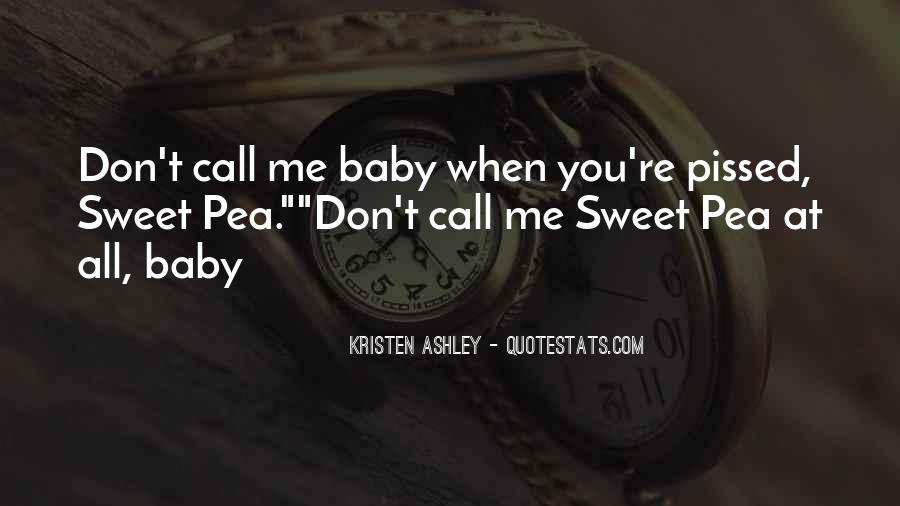 Baby Don't Let Me Go Quotes #26903