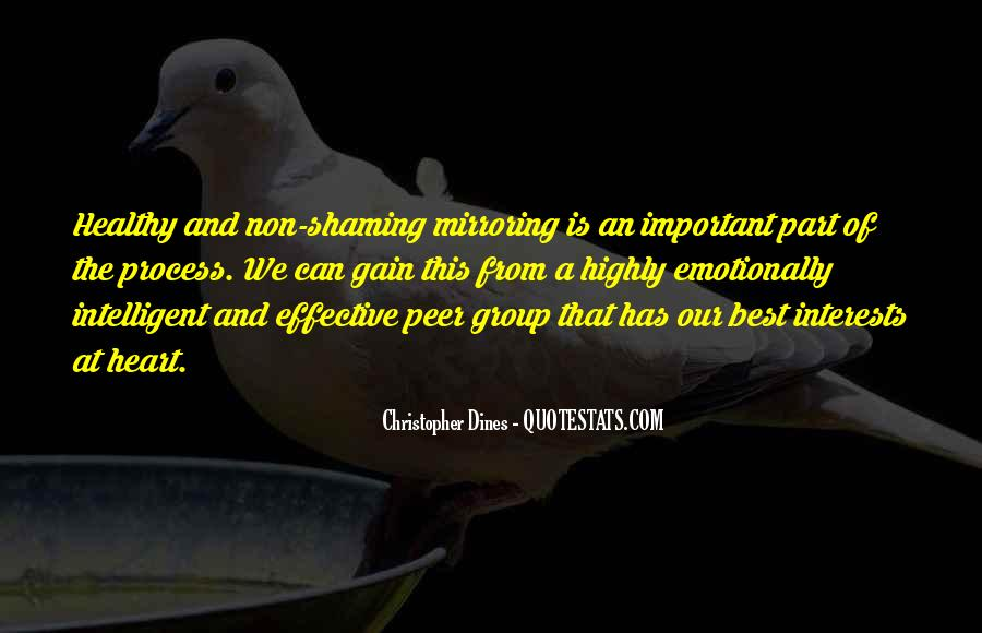 Quotes About Mirroring Others #1504131