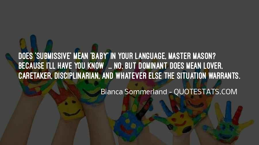 Baby In Whom Quotes #2131
