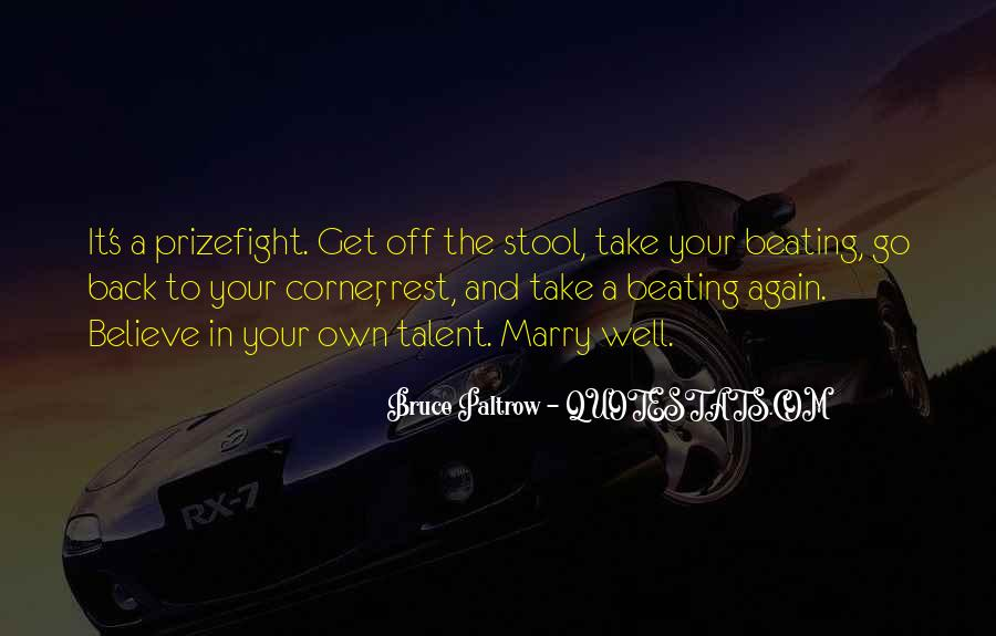 Back Beating Quotes #1644153
