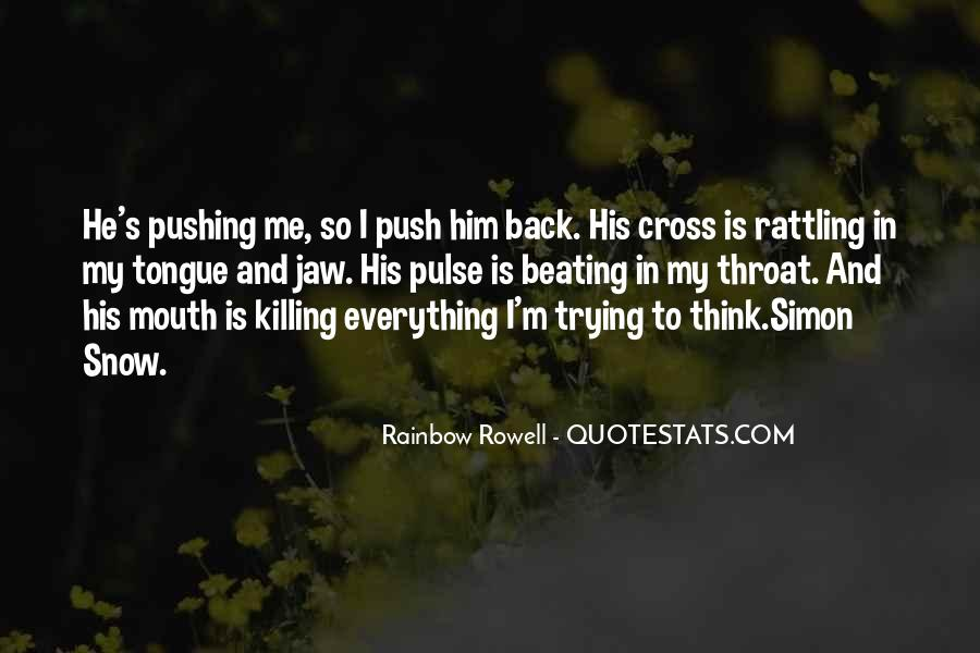 Back Beating Quotes #166628