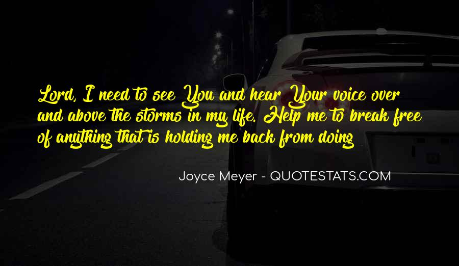 Back In My Life Quotes #110761