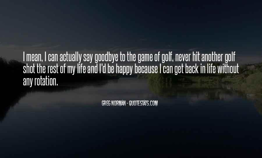 Back In My Life Quotes #114348