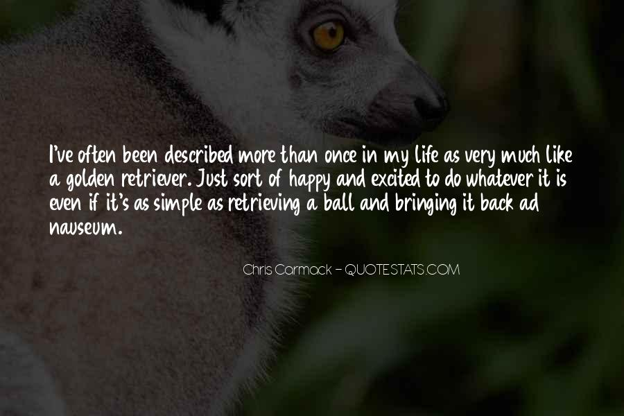 Back In My Life Quotes #11670