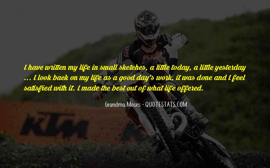 Back In My Life Quotes #148425