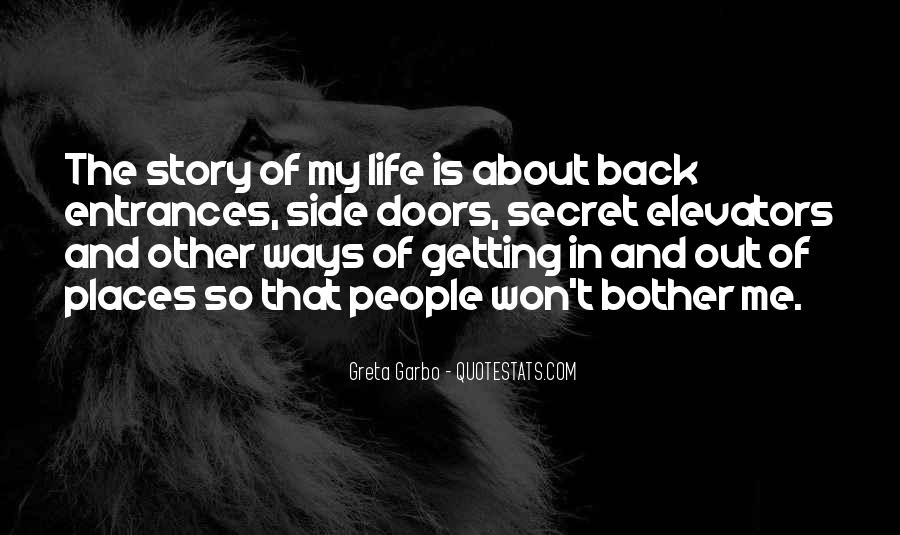 Back In My Life Quotes #149388