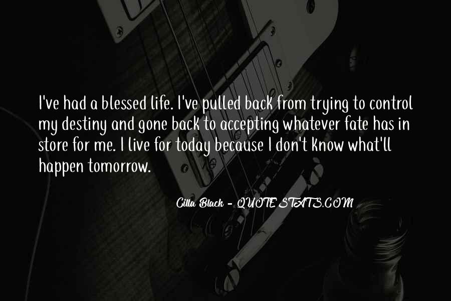 Back In My Life Quotes #154496
