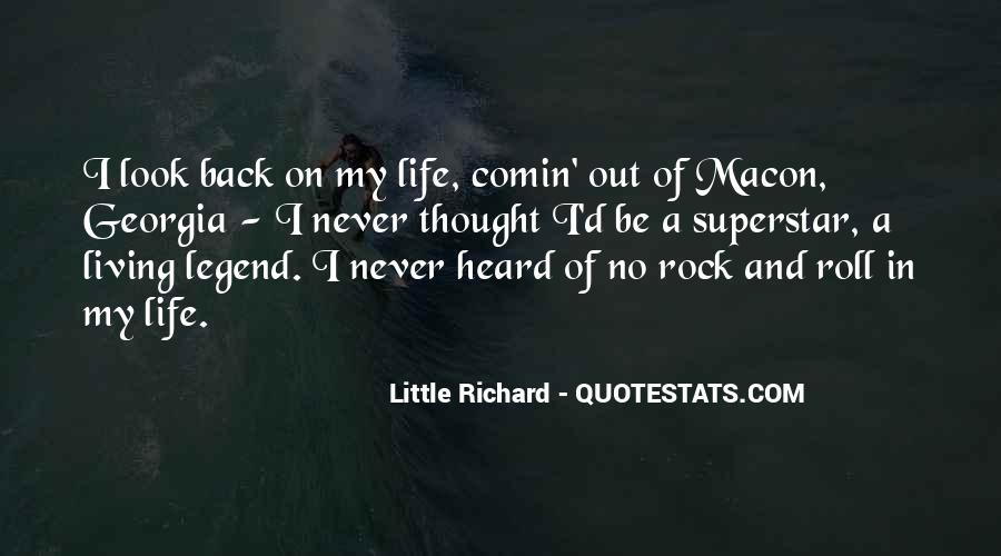 Back In My Life Quotes #18160