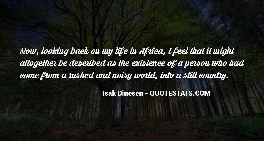 Back In My Life Quotes #184634