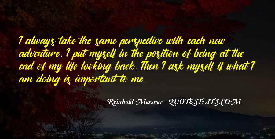 Back In My Life Quotes #20149