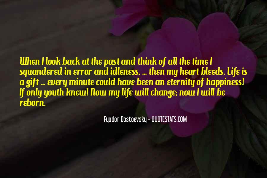 Back In My Life Quotes #252541