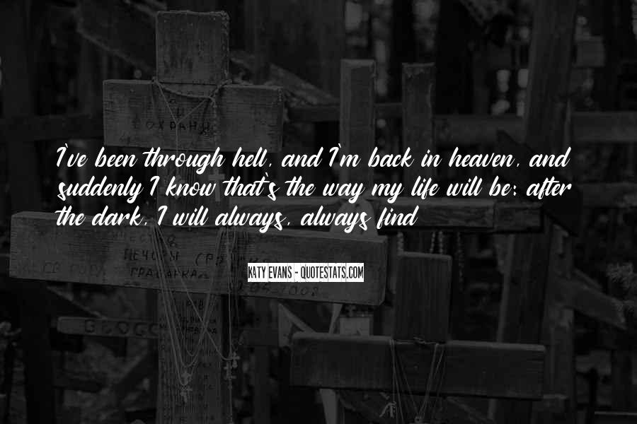 Back In My Life Quotes #290020