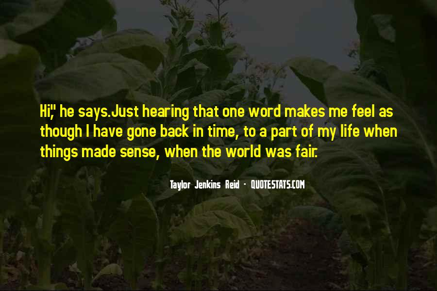 Back In My Life Quotes #311653