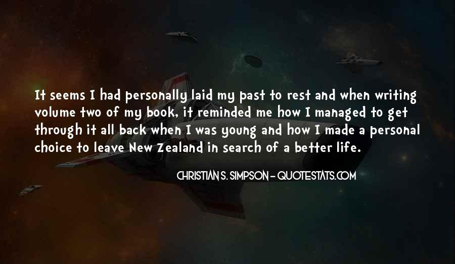 Back In My Life Quotes #321616