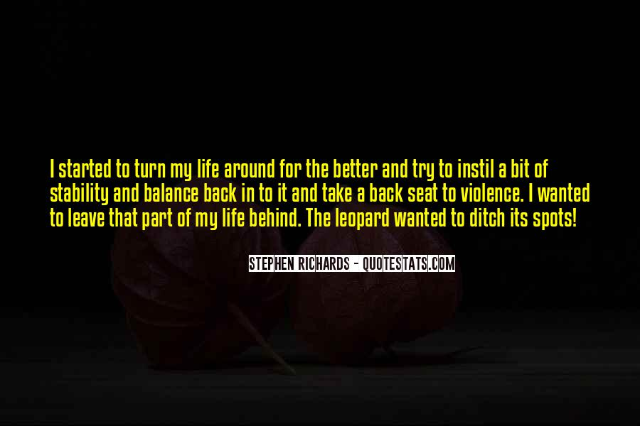 Back In My Life Quotes #334903